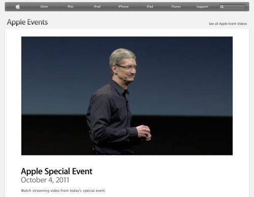 Video del Keynote 4 Ottobre 2011
