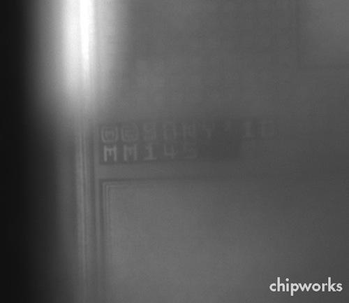 Analisi agli infrarossi del sensore fotografico dell' iPhone 4S