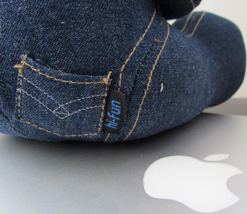 hi-George by hi-Fun targhetta tasca - The Apple Lounge