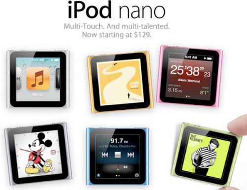 iPod Nano Topolino