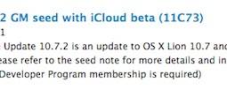 Rilasciato OS X Lion 10.7.2 GM