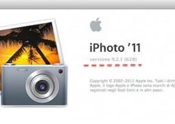 aggiornamento iPhoto '11