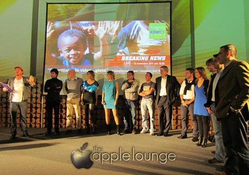 Mezzibusti (e non solo) con Microsoft XBOX 360 e Kinect insieme per Agire ONLUS - The Apple Lounge
