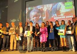 Premiazione mezzibusti serata Microsft XBOX 360 e Kinect per Agire ONLUS - The Apple Lounge