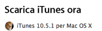 iTunes 5.0.1 disponibile - The Apple Lounge