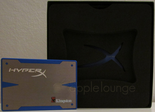 Kingston HyperX SSD 240 GB Upgrade Kit, Unboxing 01 - The Apple Lounge