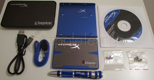 Kingston HyperX SSD 240 GB Upgrade Kit, Unboxing 03 - The Apple Lounge