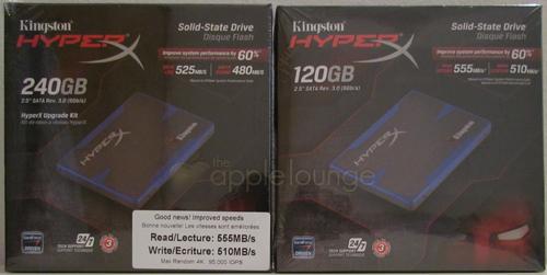 Kingston HyperX SSD 240 GB Upgrade Kit e Kingston HyperX SSD 120 GB - The Apple Lounge