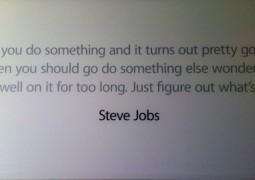 Le frasi celebri di Steve Jobs nell'Apple Campus