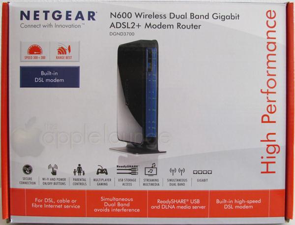 NETGEAR DGND3700 Unboxing 01 - TheAppleLounge.com