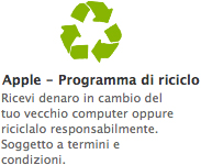 Programma di riciclo Apple