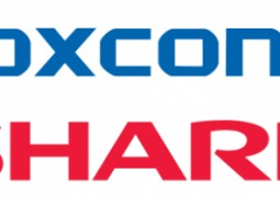 Foxconn e Sharp logo