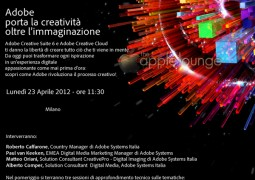 Adobe Creative Suite 6 CS6 e Adobe Creative Cloud presentazione, Milano 23 aprile 2012 Uscita Adobe CS6