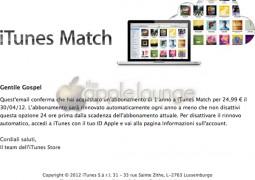 iTunes Match in Italia, attivo - TheAppleLounge.com