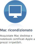 Mac ricondizionati garantiti Apple - TheAppleLounge.com