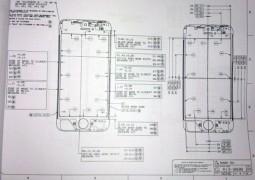 Nuovo iPhone 5, presunto schema della parte frontale - TheAppleLounge.com