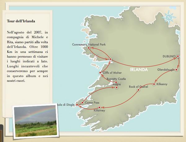 iPhoto mappa di viaggio Irlanda 2007 - TheAppleLounge.com