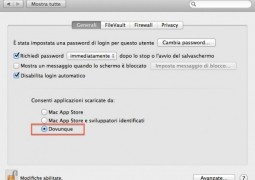 gatekeeper disabilitare sicurezza