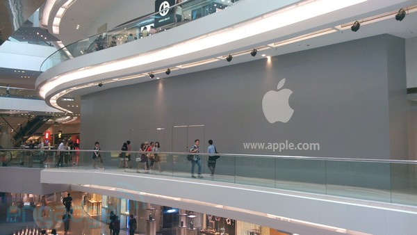 secondo apple store honk kong
