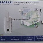 NETGEAR WN3000RP Universal WiFi Range Extender, immagine frontale scatola - TheAppleLounge.com