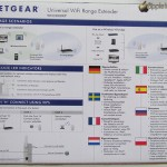 NETGEAR WN3000RP Universal WiFi Range Extender, immagine posteriore scatola - TheAppleLounge.com
