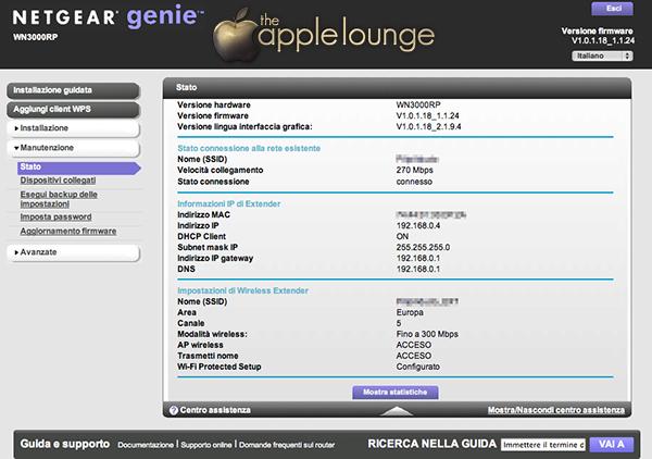 NETGEAR WN3000RP Universal WiFi Range Extender, nuova interfaccia utente NETGEAR - TheAppleLounge.com