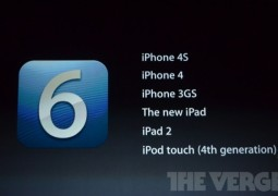 iOS 6 dispositivi compatibili