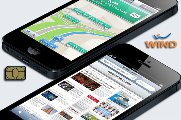 iPhone 5, nano SIM WIND - TheAppleLounge.com