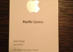 Sam Sung Apple Store