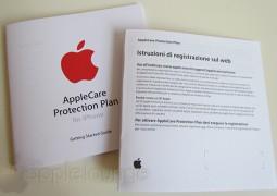 AppleCare Protection Plan, confezione di APP per iPhone (contenuto della confezione, pagina italiano) - TheAppleLounge.com