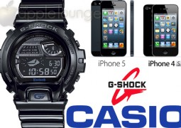 CASIO G-SHOCK GB-6900AA, compatibile con iPhone 5 e iPhone 4S - TheAppleLounge.com