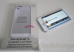 Cover iPhone 5 Clear, immagine della confezione - TheAppleLounge.com