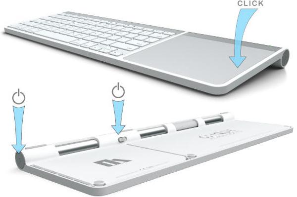 Dock tastiera