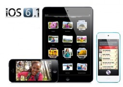 Aggiornamento iOS 6.1