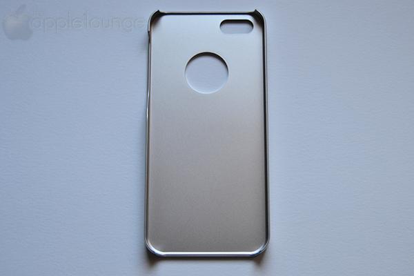 moshi iGlaze armour for iPhone silver, particolare interno della cover fuori dalla scatola - TheAppleLounge.com