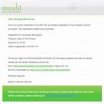 moshi iVisor XT for iPhone 5, e-mail di registrazione del prodotto - TheAppleLounge.com