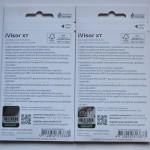 moshi iVisor XT for iPhone 5, immagine posteriore della confezione per iPhone 5 bianco e iPhone 5 nero - TheAppleLounge.com