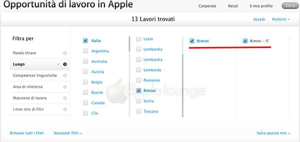 Apple Store Rimini, iniziata la ricerca di personale - TheAppleLounge.com