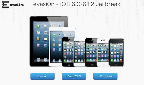 Evasi0n jailbreak iOS 6.1.3