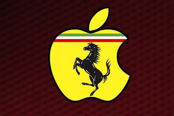 Ferrari e Apple - TheAppleLounge.com (image courtesy by CultOfMac)