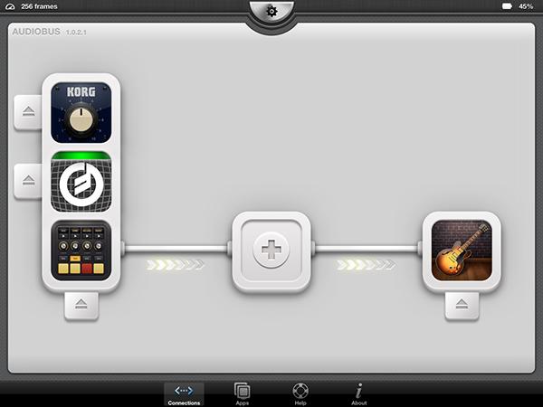 GarageBand e Audiobus