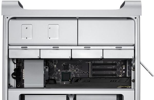 Mac Pro aperto parte alta
