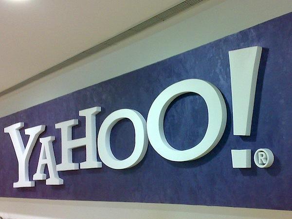 Yahoo! accordi Apple