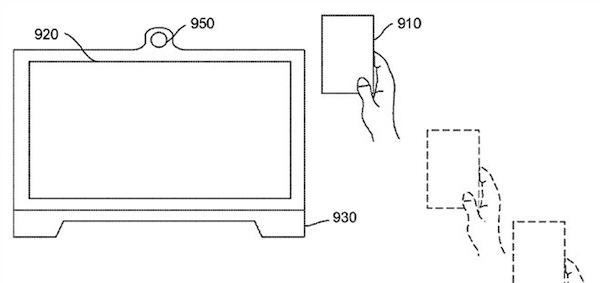 Brevetto Apple trasferimento di prossimità tra iOS e OS X