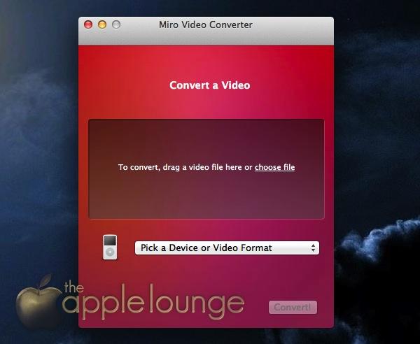 Conversione video app Mac