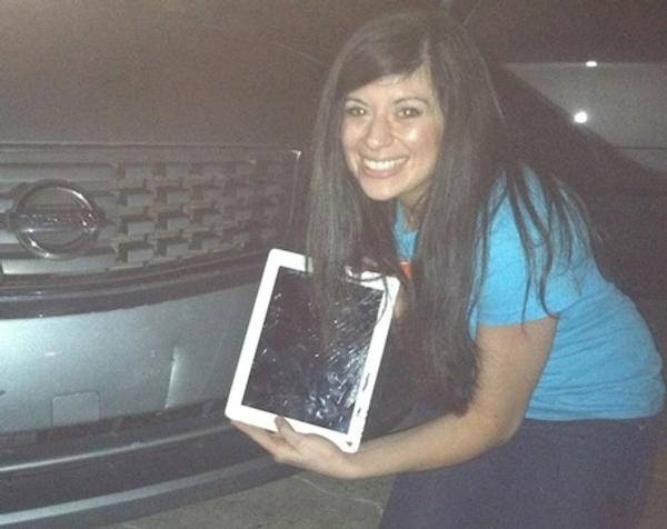 iPad danneggiato