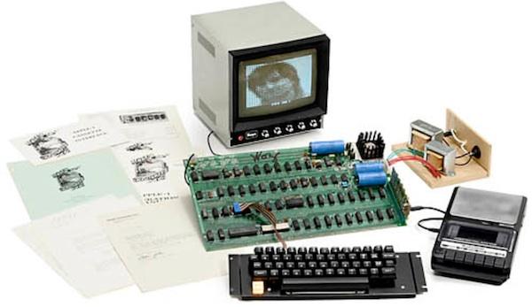 Apple I firmato da Wozniak all'asta