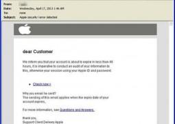 Apple ID phishing Trend Micro