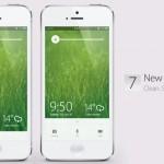 iOS 7 lock screen concept