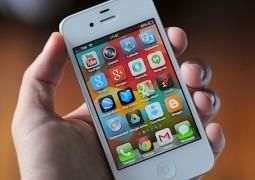 iPhone 4S con applicazioni Google
